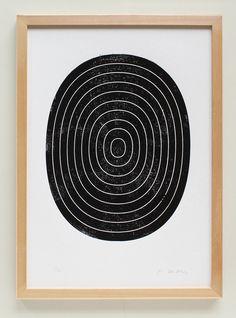 Holzschnitt Poster schwarz weiß A3 handgedruckter abstrakter | Etsy Woodblock Print, Etsy, Paper, Minimalist, Printing, Abstract, Wood Engraving