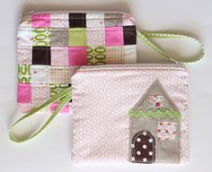 Cute house pouch :)