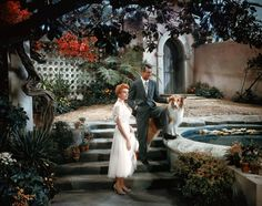 Cary Grant and Deborah Kerr in scene from An Affair to Remember.