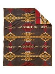 Pendleton Blankets: I've had a long obsession with Pendleton blankets since I stayed in a little inn in Oregon that decorated each bed with one. The rest of the decor was equally rustic, and despite being allergic to wool I hope to one day drop $200 on one. Which one to choose might be a problem, though...