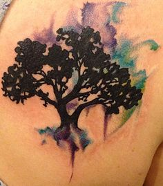 Tattoo Gallery - Amy Ausiello - Pittsburgh Tattoo Studio Watercolor tattoo
