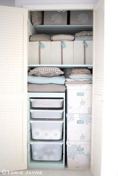 Clothes Closet Organisation Diy Ikea Hacks 57 Ideas For 2019 Laundry Cupboard, Linen Cupboard, Cupboard Shelves, Cupboard Ideas, Hall Cupboard, Pantry Ideas, Kitchen Cupboard, Corner Shelves, Kitchen Storage
