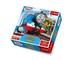 Wielka Przygoda Tomka to idealna gra planszowa dla najmłodszych miłośników przygód popularnej lokomotywy.  #trefl #zabawki_edukacyjne #supermisiopl