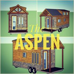 SO EXCITED! Now introducing our latest model The Aspen! At $35750 this home comes FULLY furnished with master bedroom loft full kitchen living space (with couch!) roomy shower and dining area! The price includes shelving clothing storage all appliances couch dining chairs drying racks kitchen furnishings and more! As our loyal Instagram followers you get a sneak peak and opportunity to order this home from us FIRST securing your build spot! Have questions? Message us! All ammentities…