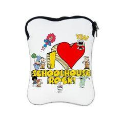I Heart Schoolhouse Rock! iPad Sleeve