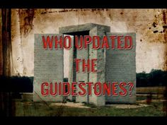 The Georgia Guidestones Have Officially Been Updated with the Year 2014,,,who did it????????????????? erected in 1979-80