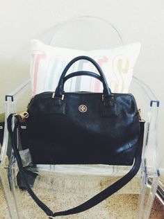 Tory Burch Striped Satchel Ping Pinterest Satchels Bag And Purse