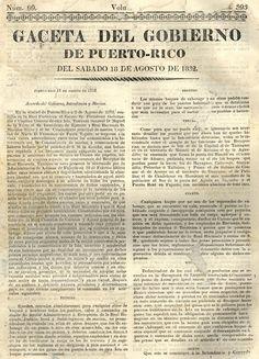 Gaceta del Gobierno de Puerto Rico.