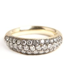 Organic Oval with Diamond Pave' Dream Collective