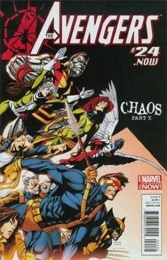Vingadores (vol.5) # 24. agora X-men Desmontada Variante