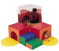 Corner Tunnel Soft Play Climber