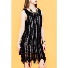 Nana Fringed #Jumper #Dress