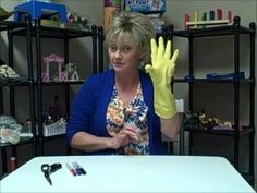 Play Therapy Tip of the Week: Finger Puppets Made From Latex Gloves