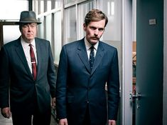 Shaun Evans and Roger Allam in Endeavour. Inspector Morse, Roger Allam, Shaun Evans, Drawn Together, Photo Supplies, Chain Of Command, The Quiet Ones, Some Things Never Change, Truth And Justice