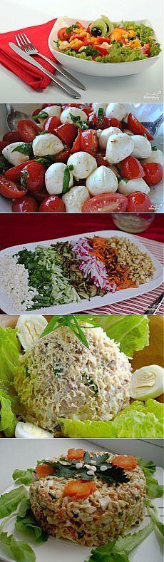 30 салатов к шашлыку