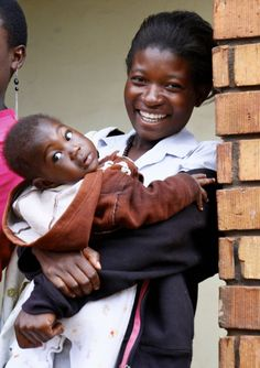 A beautiful Mission House mom & her baby #Uganda