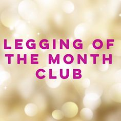 Amazing introductory prices on our Legging of the Month Club! Join www.facebook.com/groups/amandadarlene