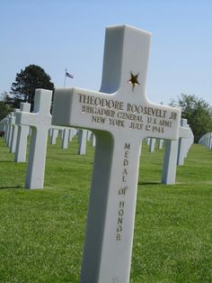 American cemetary above Omaha Beach, Normandy France