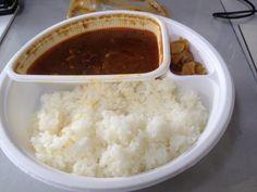 No.6ココイチのカレー、チキン煮込み10辛で。1/27 (13:30)