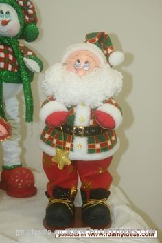 images attach d 1 132 933 Christmas Snowman, Christmas Holidays, Christmas Crafts, Merry Christmas, Christmas Decorations, Christmas Ornaments, Cute Crafts, Diy And Crafts, Santa Doll