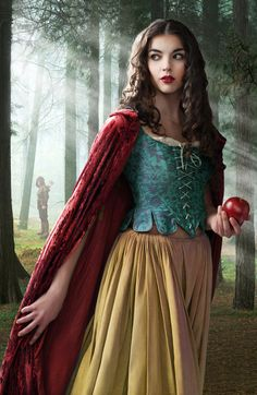 Snow white.  Melanie Dickerson