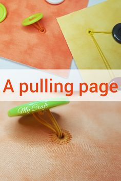 How to make eyelets with sewing machine for the pulling quiet book page Elderly Activities, Preschool Activities, Activities For Kids, Baby Crafts, Felt Crafts, Binding Quiet Book, Book Binding Methods, Diy Montessori Toys, Quiet Book Tutorial