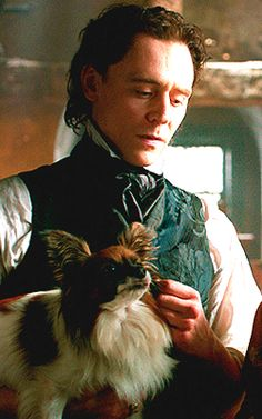 Sir Thomas Sharpe | I love the way that he just stares while the dog draws your attention