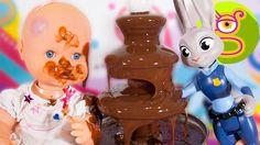 La bebé Luci hace una chocolatada con Martina-Capítulo #17-Nenuco y Zoot...
