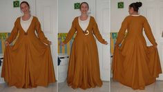 site compares the german kleid to the moy bog gown.- Love the fullness of the skirt..