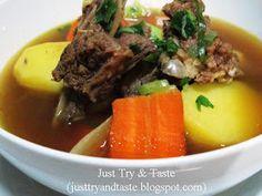 Just Try & Taste: Sop Iga