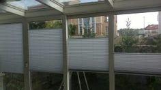 En güzel cam balkon perde modelleri