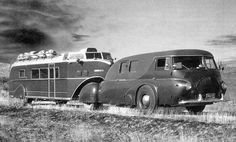 Reo Tractor and Curtiss Aerocar, 1938