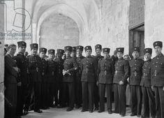 Ottoman soldiers (Turkish Army) in Palestine, 1915