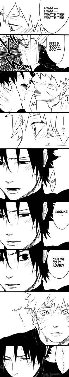 Doujinshi by blue tomato part 3 #sasunaru #narusasu