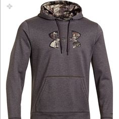 Under Armour Storm Caliber hoodie Brand new but I took the tags off when purchased! Under Armour Tops Sweatshirts & Hoodies
