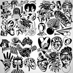 Tattoo doodles