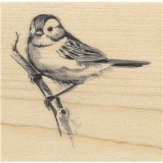Sparrow Rubber Stamp * You can find more details by visiting the image link.