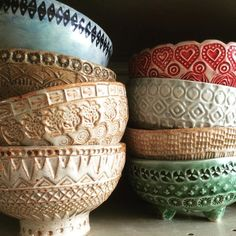 Bowls …