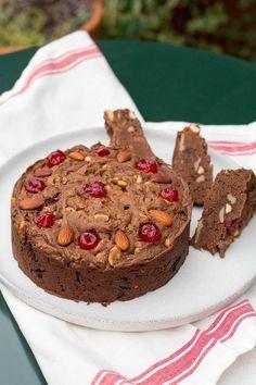 Pan de pascua de chocolate