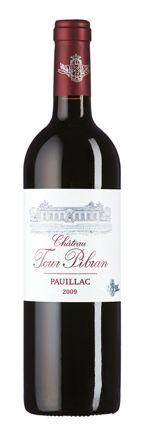 Château Tour Pibran 2009: Opulente Beerenfrucht mit reichhaltiger Würze im Bouquet, konzentrierte Fruchtfülle mit erdigen Nuancen und delikater Dichte und Länge, gereifte Gerbstoffe.