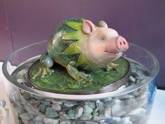 If pigs and frogs procreated?