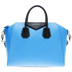Blue Givenchy Two-tone Tote