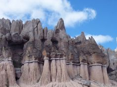 Wheeler Geologic Monument - Creede Colorado