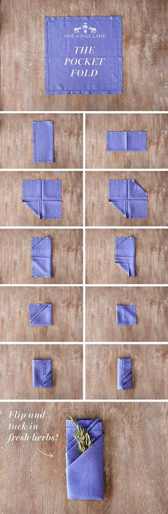 Your Step-by-Step Guide to Nailing 3 Hot Napkin Folds – One Kings Lane — Our Style Blog