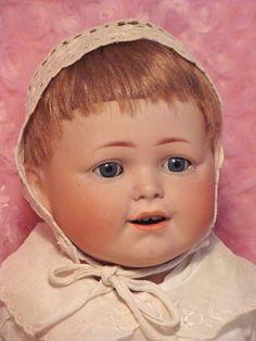 C.M. Bergmann Character Baby - Bayberry's Antique Dolls #dollshopsunited