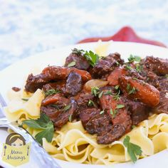Menu Musings of a Modern American Mom: Boeuf Bourguignon (Beef Burgundy)