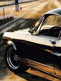 Muscle that drive with a Mustang!
