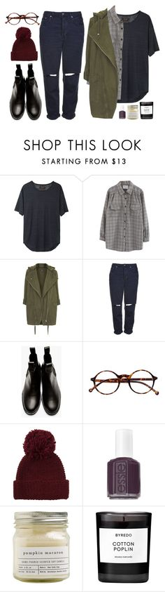 """Jessie"" by soym ❤ liked on Polyvore featuring Isabel Marant, Chicnova Fashion, Topshop, Comme des Garçons, Retrò, Portolano, Essie, Brooklyn Candle Studio and Byredo"