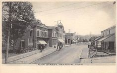 SEYMOUR, CT ~ HOMES & STORES ON MAIN STREET ~ GEO. SMITH & SONS, PUB. ~ c. 1906