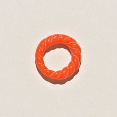 Cayenne Glass Rope Ring - 7